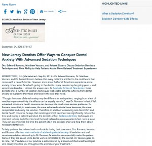dentists in new jersey,sedation dentistry,types of sedation,sedation side effects